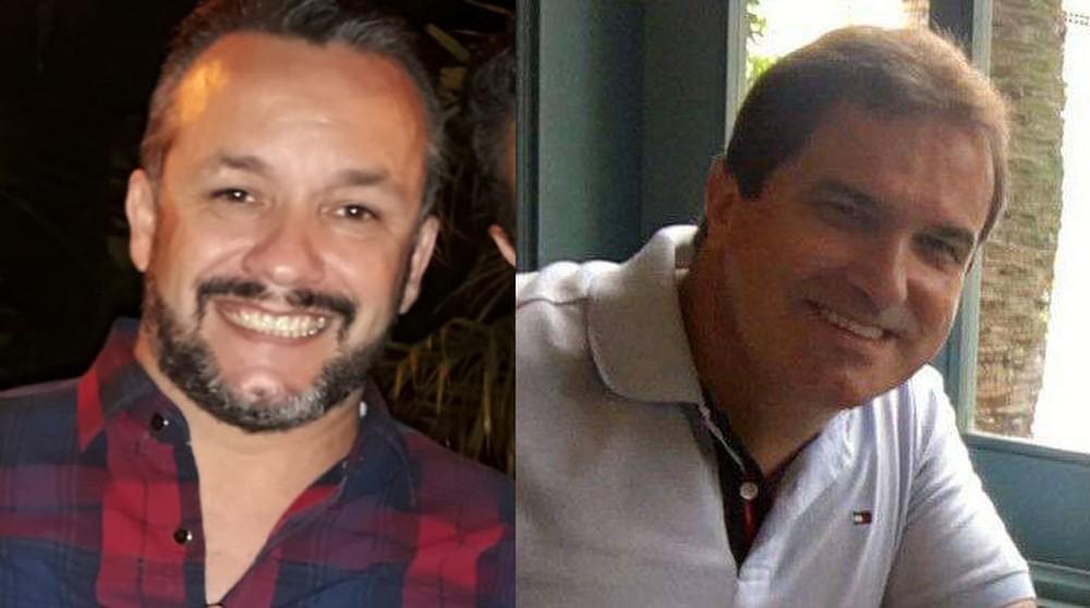 Cinegrafista Mauro Sérgio e o empresário José Wilson estavam com a 'Doença do Pombo' — Foto: Arquivo Pessoal
