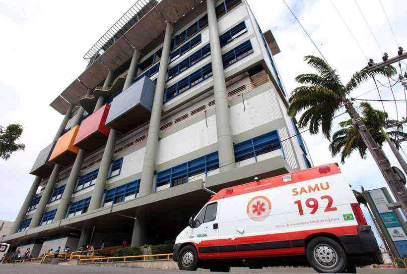 Socorrida pelo Samu, a criança foi internada no Centro de Pediatria do Instituto José Frota (IJF) de Fortaleza