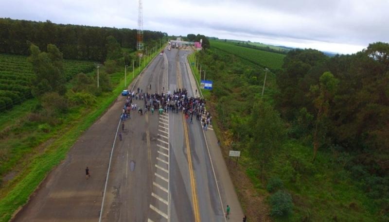 População de Campos Altos se une para pedir a duplicação da BR-262; Confira a nota emitida pela Triunfo