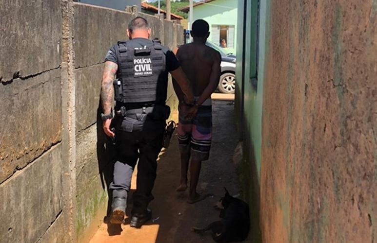 PC de Campos Altos prende homem suspeito de vários furtos a residências em Santa Rosa da Serra