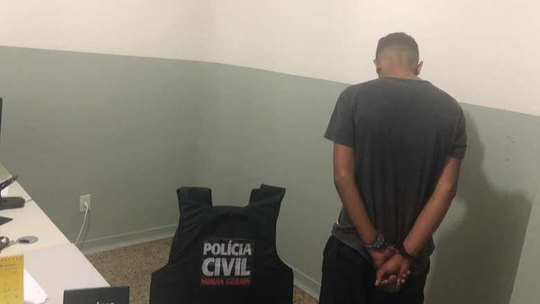 Jovem é preso por suspeita de estuprar menina de 12 anos em Campos Altos