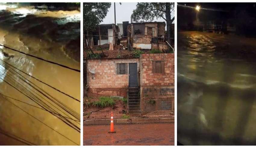BH foi uma das cidades castigadas pelas chuvas