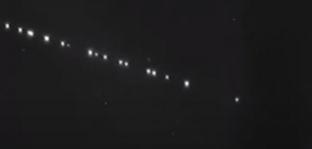 Bambuienses são surpreendidos com 'luzes estranhas' no céu