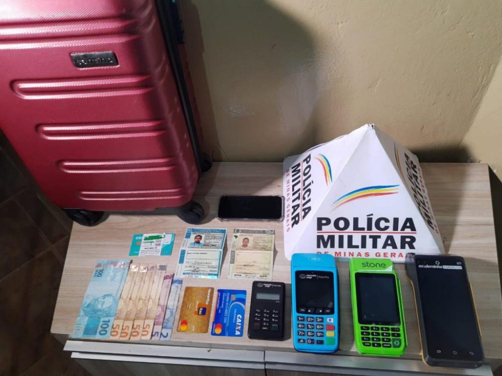 Operação conjunta entre Polícia Militar e Polícia Civil prende autor de vários golpes em Araxá