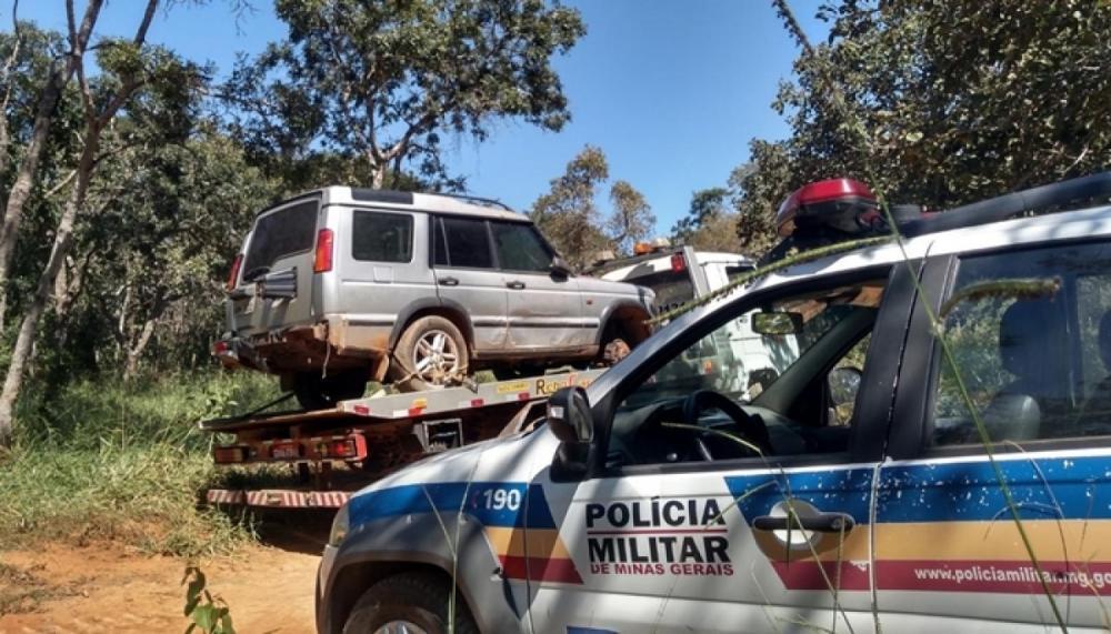 Polícia localiza veículo roubado de cliente em restaurante na BR-262, em Luz