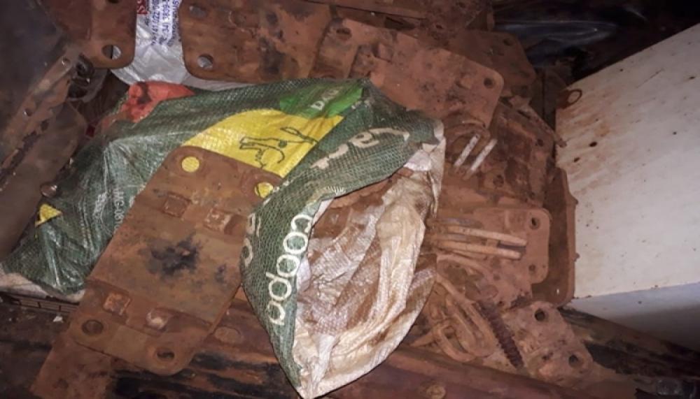 Homem é preso na BR-146 suspeito de furtar materiais de linha férrea em Ibiá