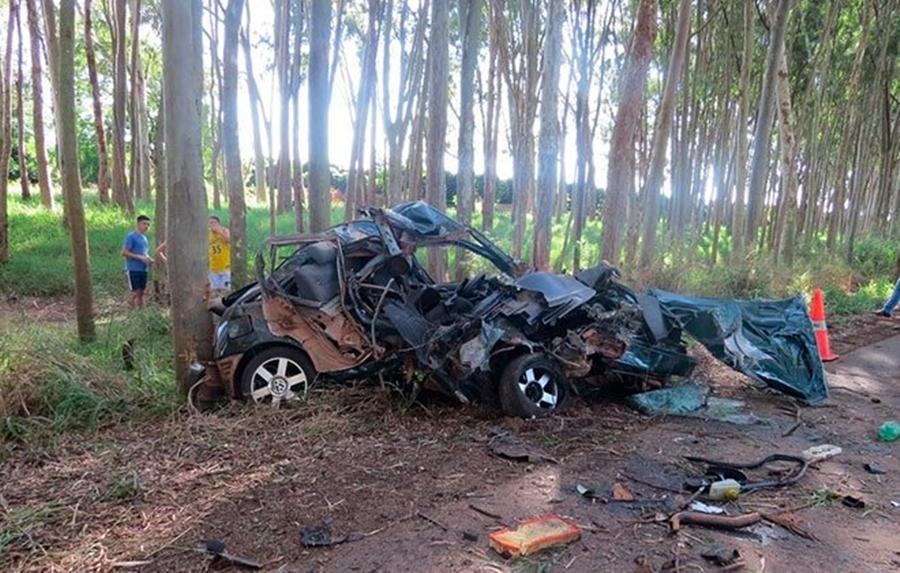 Motorista escapa com vida de grave acidente na cidade de Carmo do Paranaíba