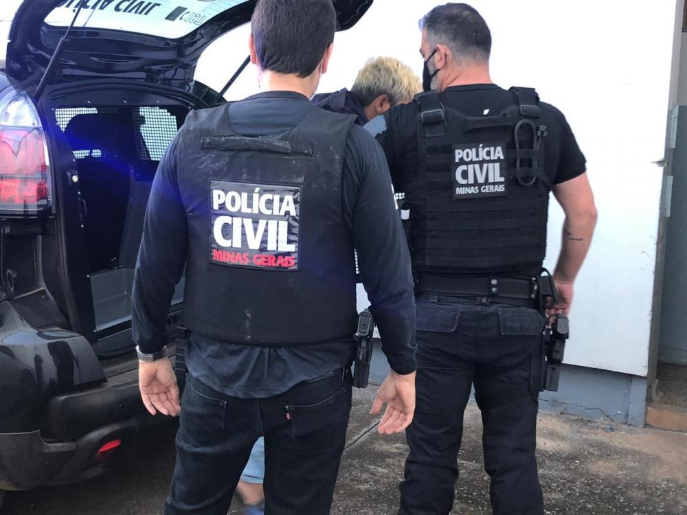 PC prende homem que ameaçou matar desafeto queimado em Campos Altos/MG