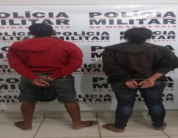 Casal é preso suspeito de tráfico de drogas em Bambuí